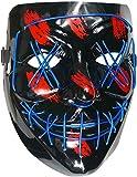 A-zack Brudergo LED LEUCHT Maske, 3...