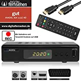 Xaiox Anadol 111c digitaler Full HD Kabel-Receiver [Umstieg Analog auf Digital] inkl HDMI Kabel...