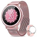 Smartwatch Damen NAIXUES Fitness Tracker...