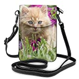 Lawenp Red Pet Cat Crossbody Telefon...