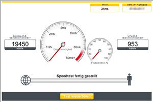 Kabel Deutschland Speedtest