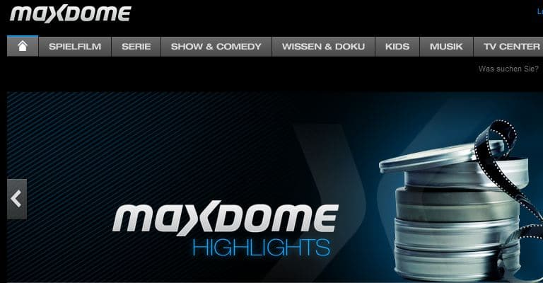 Maxdome Newsbild