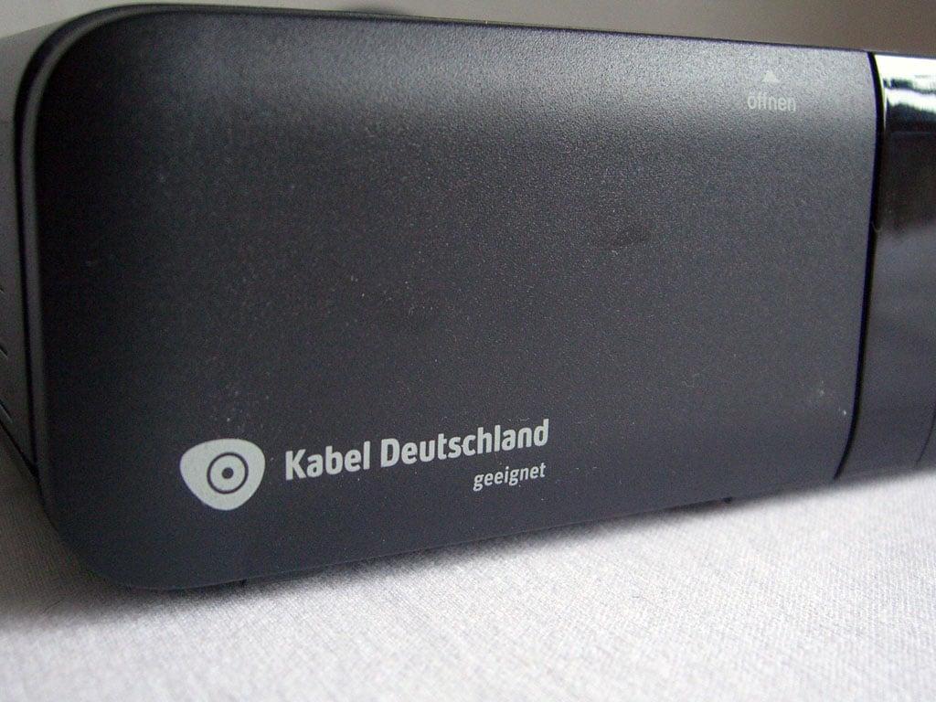 Kabel Deutschland geeignete Kabel Receiver