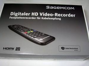 Verpackung des Sagemcom RCI88-KDG 320