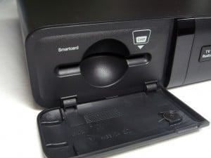 Smartcard-Schacht des Sagemcom RCI88-320 KDG
