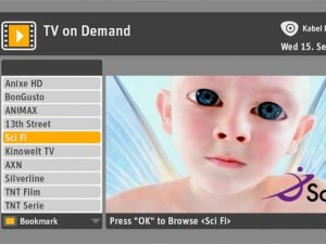 TV on Demand von Kabel Deutschland