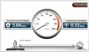 Internet-Geschwindigkeitsgarantie bei Kabel BW