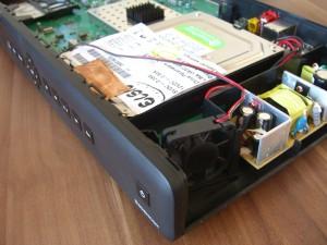 Sagemcom RCI88-320 KDG - HDD und Lüfter