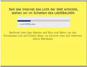 Video zum Gewinnerbeitrag von Gundula Lenz: 100 MBit/s - der Hobel am Ladebalken