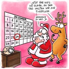 Wann war Weihnachten?