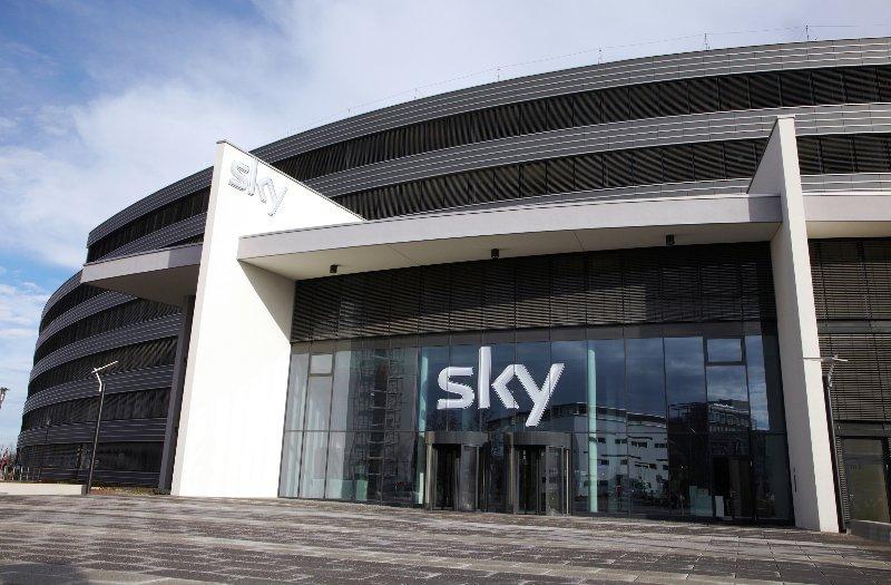 Firmensitz von Sky