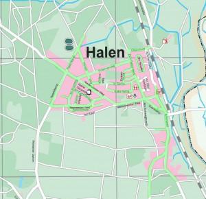 Versorgungsbereiche von Unitymedia in Lotte/ Halen