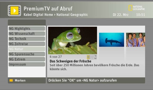 Premium-Inhalte bei SELECT VIDEO
