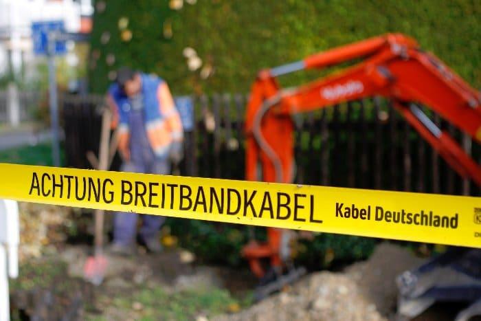 Netzausbau bei Kabel Deutschland