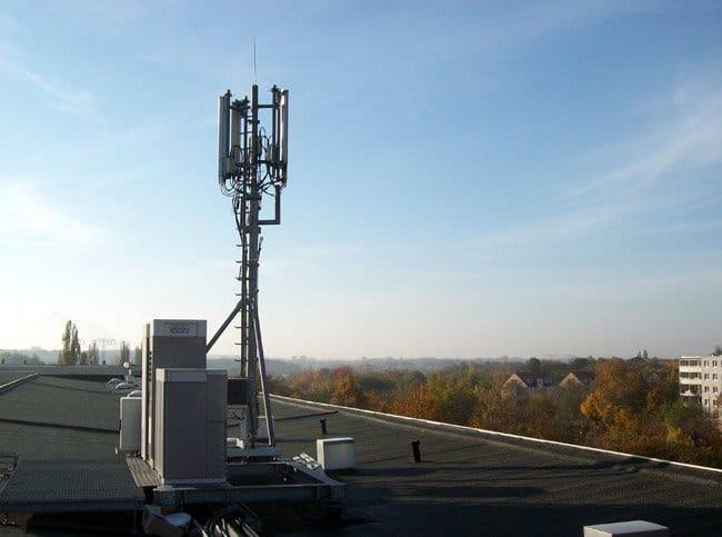 LTE-Antenne von Telefónica Germany in Halle-Neustadt