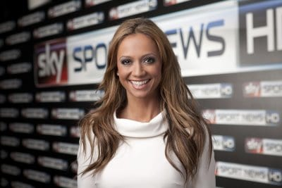 Kate Abdo von Sky Sport News HD