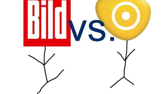 BILD gegen Kabel Deutschland | Logos gehören den jeweiligen Firmen