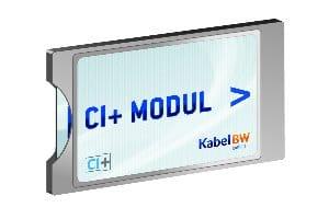 Das neue CI+ Modul von Kabel BW