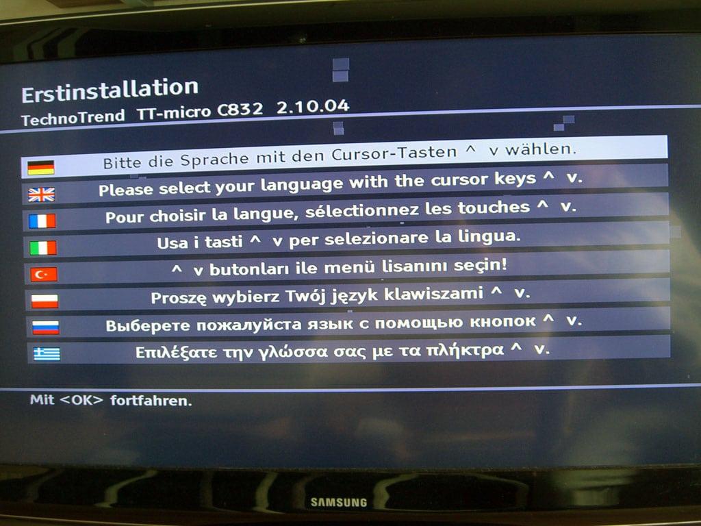 technotrend-c832hdtv-erstinstallation