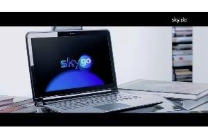 Sky Go auf dem Notebook