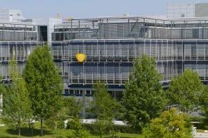 Die Unternehmenszentrale von Kabel Deutschland in Unterföhring