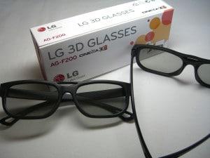 3D Brillen von LG