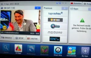 SmartTV am LG LW650S