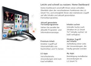 Webseite von LG - AppsTV
