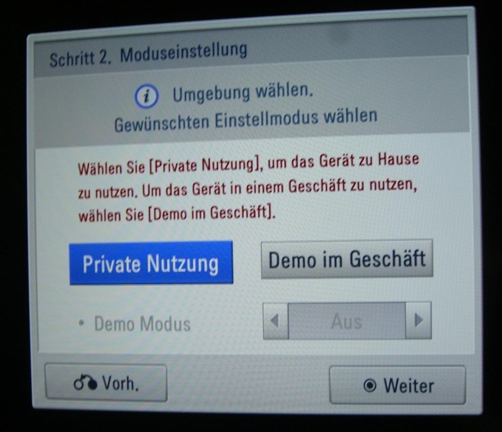 moduseinstellung-privat-demo