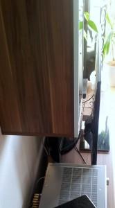 LG TV - Abmessung