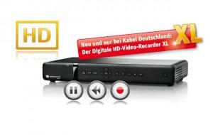 Der neue HD-DVR XL von Kabel Deutschland