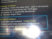 Smart-TV bei HR929C