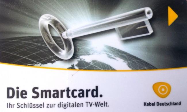 Smartcard von KDG