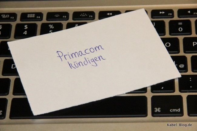 Primacom Kündigung