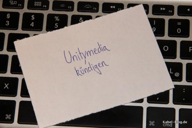 Unitymedia Kündigung