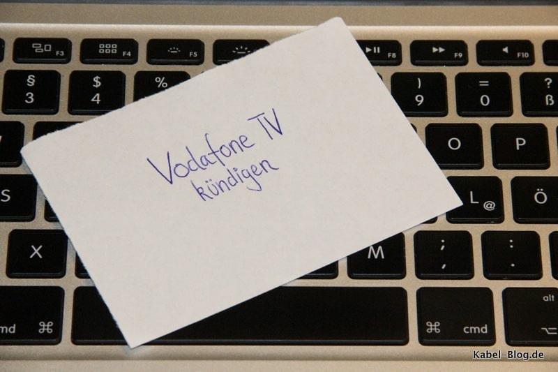 Vodafone TV Kündigung