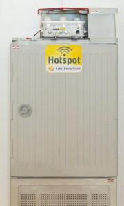 WLAN-Hotspot von Kabel Deutschland mit Aufriss einer WLAN-Haube | Bild: Kabel Deutschland
