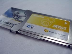CI-Plus-Modul mit Smartcard (c) Kabel-Blog.de