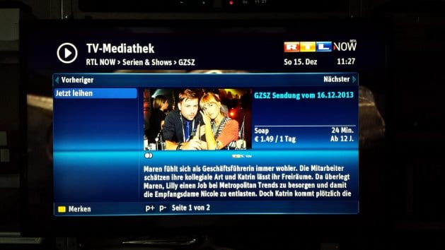 Onlinevideothek select video in greifswald verf gbar for Mediathek rtl spiegel tv