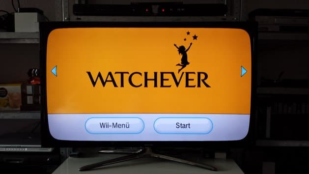 Start der App auf der Wii-Konsole | Foto: Redaktion