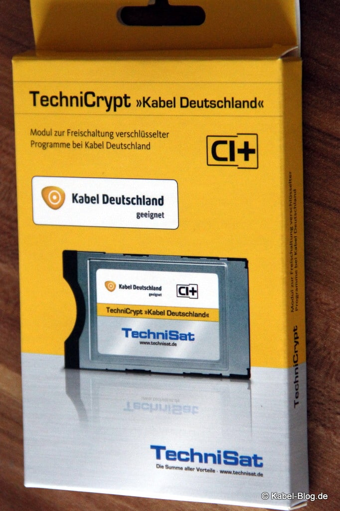 TechniCrypt-Verpackung
