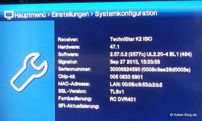 Systemkonfiguration mit Mac-Adresse