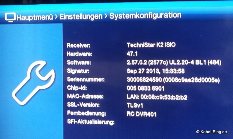 technistar-k2-isio-mac-adresse