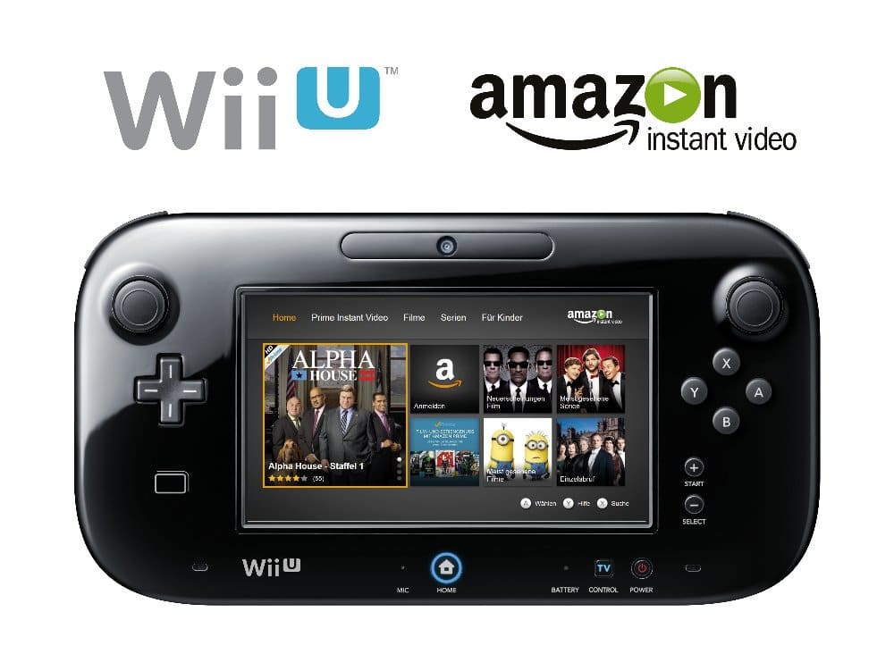 Amazon Instant Video auf der Wii U | Bild: Amazon