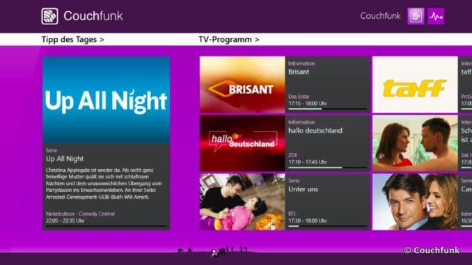 Couchfunk Screenshot