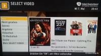 Select Video Hauptmenü
