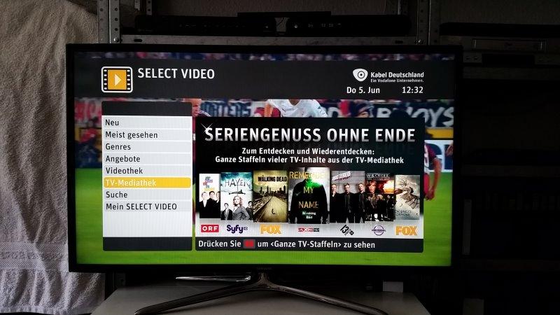 Viele Sender sind bei SELECT VIDEO. Da gibt es auch für Serienfans einiges zu sehen. | Foto: Redaktion