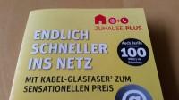 Mit solchen Flyern wirbt Kabel Deutschland für seine Anschlüsse | Foto: Redaktion