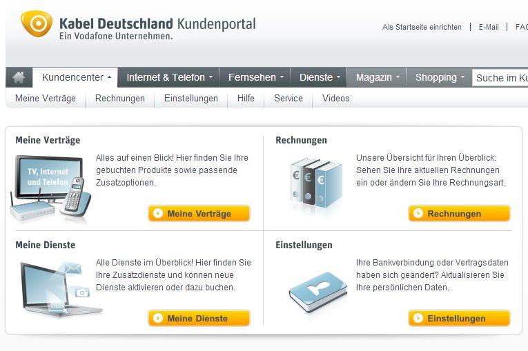 Sendefrequenzen Kabel Deutschland