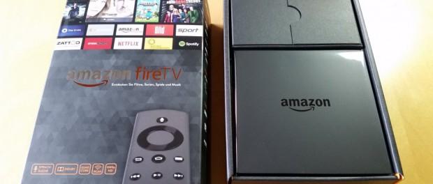 Amazon Fire TV in geöffneter Verpackung | Foto: Redaktion